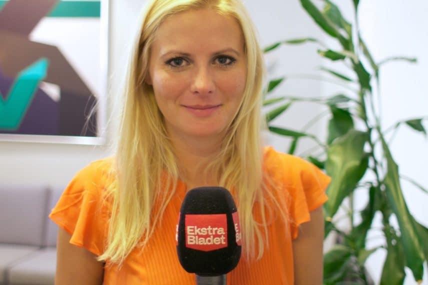 Ekstra Bladets tv-reporter Rikke Hartmann