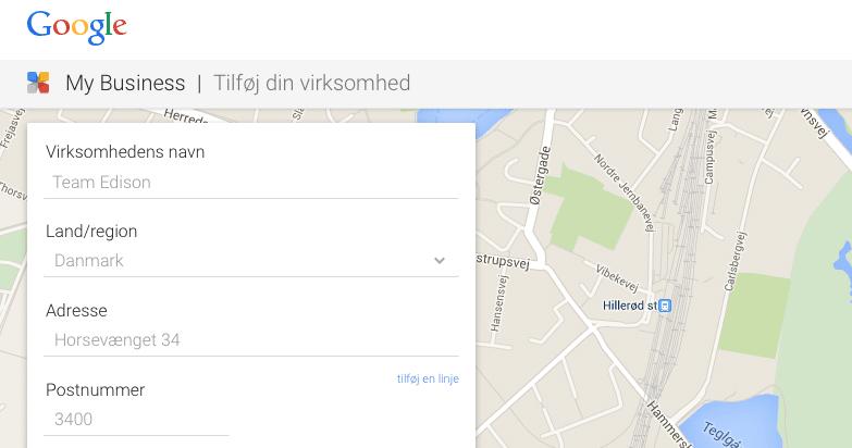 Kundemodtagelsen starter i dag på Google Maps