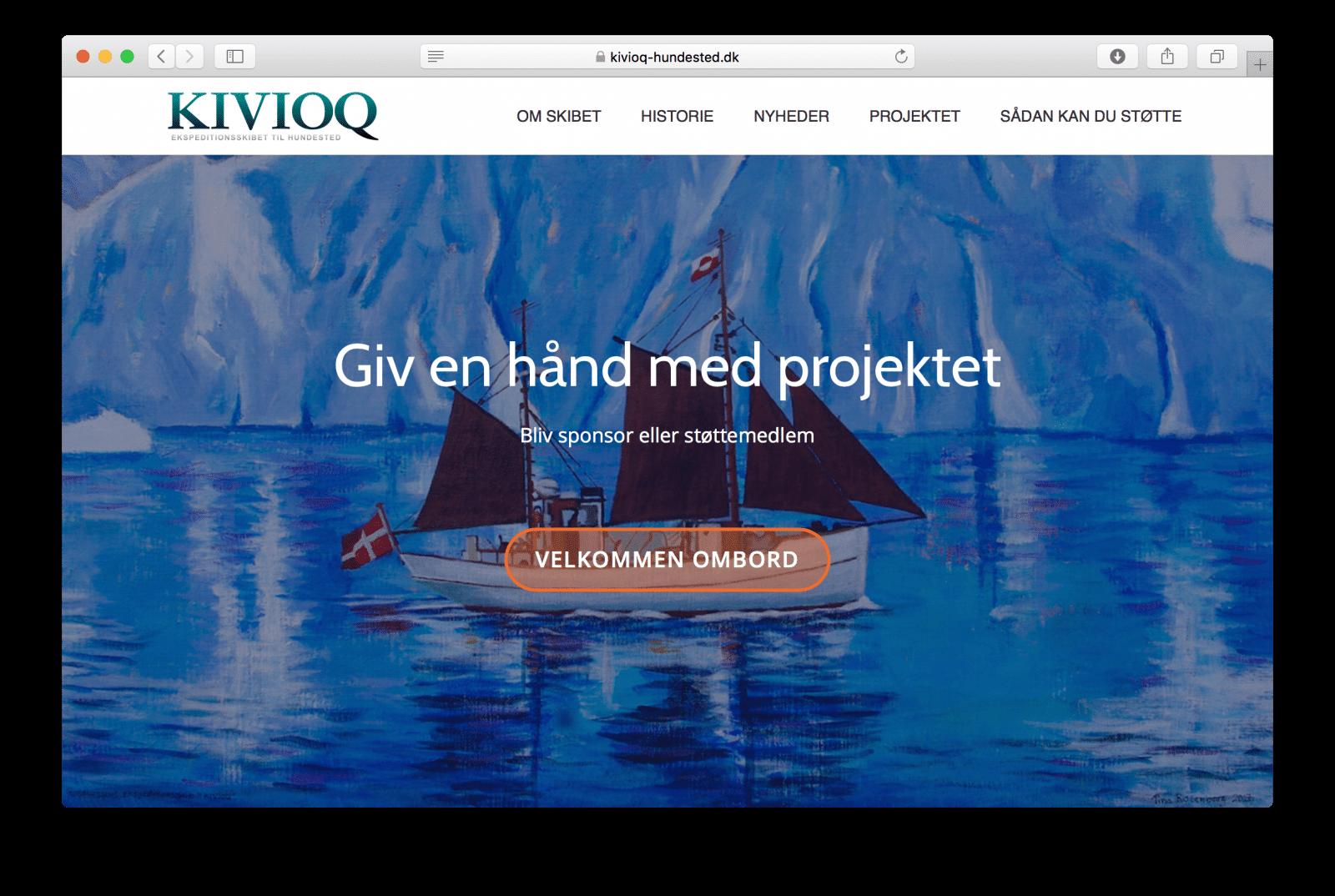 KIVIOQ-projektets nye hjemmeside åbnet for offentligheden 21. oktober 2017