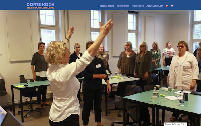 Dorte Koch – Stemme og formidling