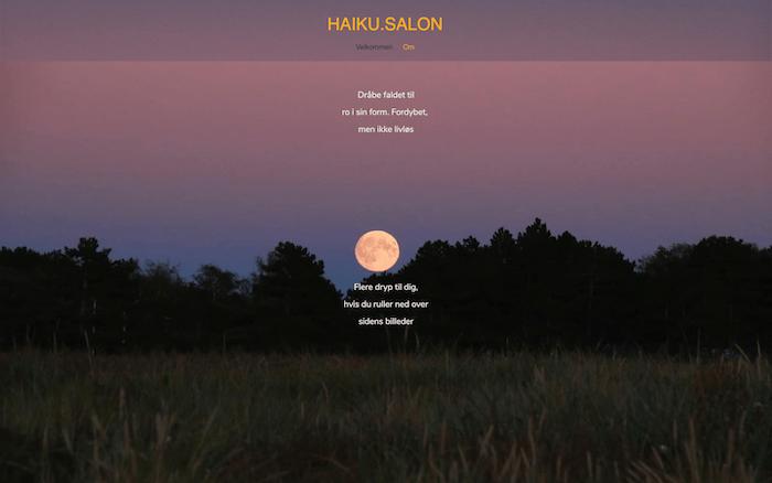 Haiku–dot-salon