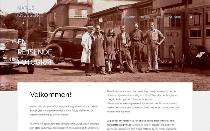 Marius Knudsen – Rejsende fotograf